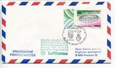 FFC 1990 Lufthansa Special Flight Calcio Coppa Mondiale Football Italia Bologna