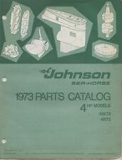 1973 JOHNSON SEA-HORSE OUTBOARD 4 HP P/N 386130 PARTS MANUAL (525)