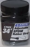 Ancra 95770 19 Inch EPDM Rubber Strap 4-Pack