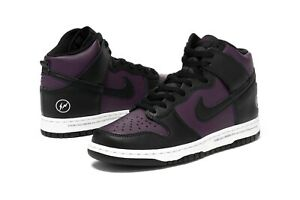 Nike Dunk High Fragment Design Beijing 2021 Wine Purple DJ0382-600 Sz 9 10.5