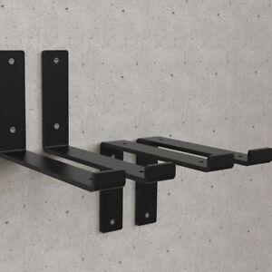Heavy Duty Rustic Shelf Brackets Industrial Steel Metal Scaffold Board Bracket 2