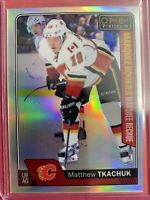 2016-17 OPC Platinum Marquee Rookie Rainbow #152 Matthew Tkachuk Calgary Flames