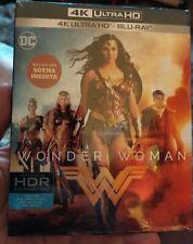 DC: Wonder Woman -4k UHD + Blu Ray -Italian Import-  Region free-New
