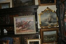 New listing Museum Quality Battle scene Oil Painting