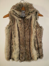 ❤️ Miss Posh Faux Fur Gilet Sleeveless Jacket Size 10 ❤️