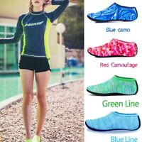 Women Men Water Shoes Non-slip Barefoot Quick-Dry Aqua Socks for Beach Swim Surf