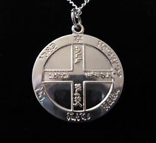 STERLING SILVER GOOD HEALTH TALISMAN Occult Magic Amulet Magick Witchcraft Wicca
