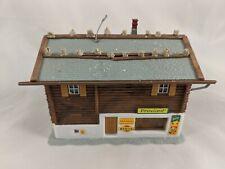 Kibri HO B-8003 Mountain Tourist House Building Model Kit Built #15