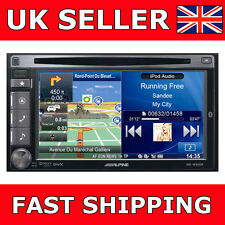 "ALPINE INE-W920R Double Din Car GPS SAT NAV BLUETOOTH 6.1 ""SCREEN STEREO NUOVO"
