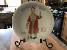Norman Rockwell 1994 'Christmas Marvel' Collectible Plate