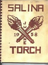 Dearborn MI Salina Junior High School yearbook 1958 Michigan