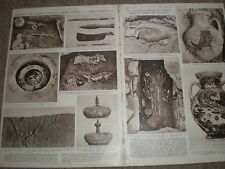 Photo article archaeology at Eleusis Greece 1954 ref X3