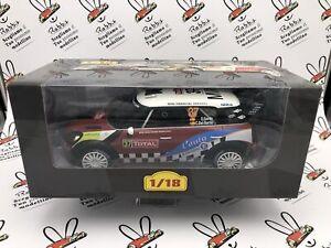 """Die Cast """" Mini John Cooper Works WRC - 2012 - D Dull """" Scale 1/18 Altaya"""