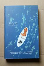Yann Martel - LIFE OF PI - Canongate Proof Advance Reading Copy 2002