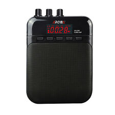 AROMA AG-03M Guitar Cube AMP 5W Output Built-in Rechargeable Battery Black