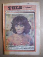 TELE GIORNO 15-02-1979 Ombretta Colli  copertina [G591]