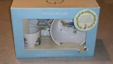 *NEW* Beatrix Potter PETER RABBIT Wedgwood 3-Piece Nursery Set Dish/Mug/Bowl