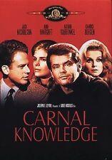 Carnal Knowledge, Excellent DVD, Carol Kane,Cynthia O'Neal,Rita Moreno,Art Garfu