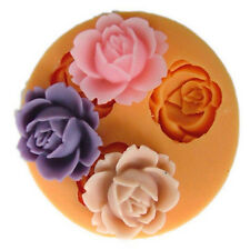 3D Flower Silicone Cake Baking Decor Mould Sugarcraft Fondant Mold Kitchen Tool