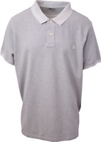 Timberland Men's Heather Grey S/S Polo Shirt (Retail $55) S07
