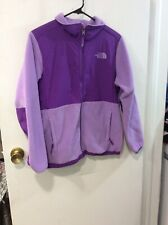 The North Face Girl's Purple Full Zip Polartec Recycled Jacket XL (18)