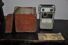 Vintage Major Megger Tester 1000v C/W leather case