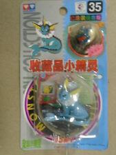 "Pokemon Japan Tomy  2"" Mini Figure 35 VAPOREON 1998 Licensed Nintendo AULDEY"