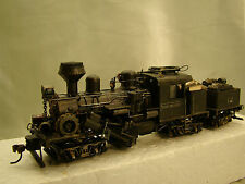 3 Track Climax Logging Steam Engine - with DCC - custom weathered - lot 10 - HO