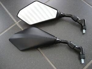 1 PAAR SPIEGEL BLACKLINE Kawasaki ZRX1100 ZRX 1200 NEW  NEUWARE OVP