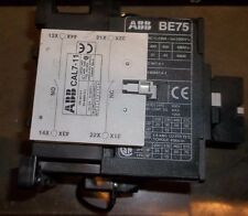 ABB BE75 COIL CONTACTOR 3 POLE    (BB2)