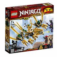 LEGO 70666 Ninjago Goldener Drache originalverpackt