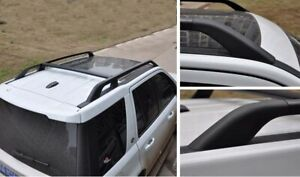 For Land Rover Freelander LR2 2006-2015 3Pcs Set Black Roof Rack Rail Cross Bar