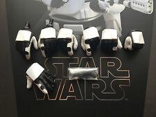 Hot Toys Star Wars Force despierta 1st orden flametrooper manos X 7 1/6th Escala
