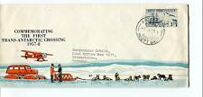 1958 First Trans-Antarctic Crossing Ross Dependency Scott Base Polar Cover