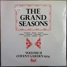 The Grand Seasons - Volume II Covent Garden 1924 2 LP New Sealed GEMM 259/60 UK