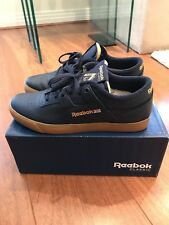 Palace X Reebok Workout Navy Blue With Volcanised Sole UK8 But Fits Like A UK9