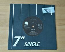 "Lone Justice Shelter 1986 UK 7"" With Promo Sticker Ex/Ex+ Alternative Folk Rock"