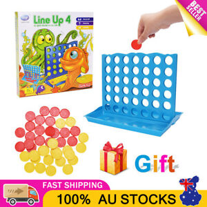 Connect 4 Four Line Up In A Row Line Board Game Mini Family Indoor 2 Players Fun