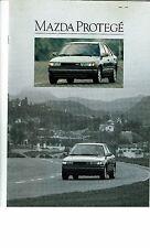 Mazda Protege Brochure 1990