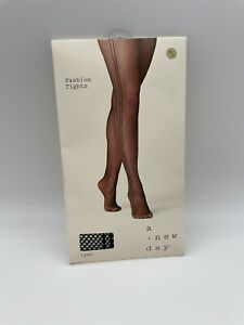 A New Day Fashion Tights Cream Large XL Fishnet New