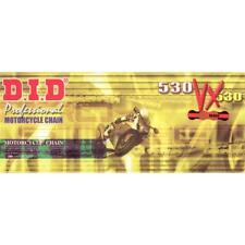 CADENA DID 530vx ORO PARA YAMAHA XJR1300 (5wm7/RP10) RUEDA DE PIÑONES DE ACERO