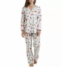 NWT Karen Neuburger Live~Love~Lounge CUTE DOGS IN JAMMIES Flannel Pajama Set M
