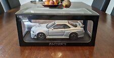 1/18 AUTOart Nissan GT-R Z-Tune silver diecast model
