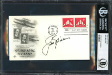 Jack Nicklaus Authentic Autographed Signed First Day Cover Beckett 12060305
