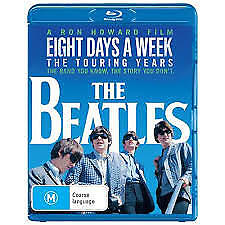 THE BEATLES - EIGHT DAYS A WEEK BLU-RAY, NEW & SEALED, REGION B, FREE POST