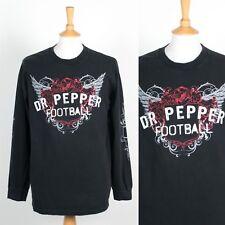 Hommes Dr. Pepper Football T-shirt à manches longues Football Américain NFL 00's Y2K L