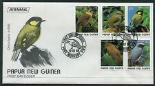 FIRST DAY COVER.... Birds on Stamps.  PNG  1989 birds set of 5