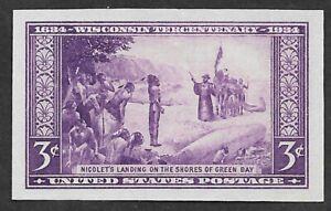 Mr B's US Stamp #755 MNGAI  VF/XF OG - 1934 Hawaii - 3 Cents -  Free Shipping!