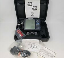 UNTESTED Lowrance X85 Fishfinder, LEI Transducer, Mount, Cables, Manual, Case