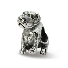 German Shorthaired Pointer Dog Bead .925 Sterling Silver Reflection Beads